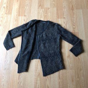 Eileen Fisher cardigan sweater sz:S golden black